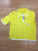 Ladies Yellow Knitwear
